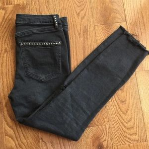 Free People jeans Women's Black Bottom Sise 28